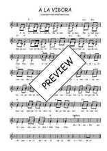 Téléchargez l'arrangement de la partition de Traditionnel-A-la-vibora en PDF à deux voix