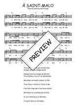 Téléchargez l'arrangement de la partition de Traditionnel-A-Saint-Malo en PDF à deux voix