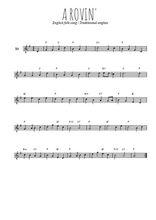 Téléchargez la partition en Sib de la musique Traditionnel-A-rovin- en PDF