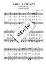 Téléchargez l'arrangement de la partition de Traditionnel-Aamulla-varhain en PDF à deux voix