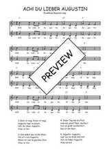Téléchargez l'arrangement de la partition de Traditionnel-Ach!-Du-Lieber-Augustin en PDF à deux voix