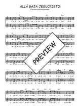 Téléchargez l'arrangement de la partition de perou-alla-baja-jesucristo en PDF à deux voix