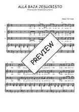 Téléchargez la partition de Allá baja Jesucristo en PDF pour 3 voix SAB et piano