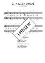 Téléchargez l'arrangement de la partition de Traditionnel-Alle-jahre-wieder en PDF à deux voix
