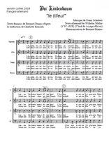 Téléchargez l'arrangement de la partition de Franz-Schubert-Am-brunnen-vor-dem-Tore en PDF à quatre voix