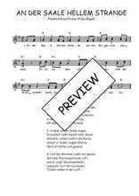 Téléchargez l'arrangement de la partition de Traditionnel-An-der-Saale-hellem-Strande en PDF à deux voix