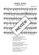 Téléchargez l'arrangement de la partition de Traditionnel-Angel-band en PDF à deux voix
