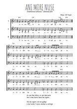 Téléchargez l'arrangement de la partition de Traditionnel-Ani-more-nuse en PDF à trois voix