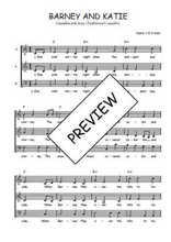Téléchargez l'arrangement de la partition de Traditionnel-Barney-and-Katie en PDF à trois voix