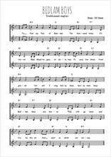 Téléchargez l'arrangement de la partition de Traditionnel-Bedlam-Boys en PDF à deux voix