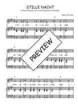 Téléchargez la partition de Stille nacht BE en PDF pour Chant et piano