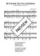 Téléchargez l'arrangement de la partition de Traditionnel-Betlehem-kis-falucskaban en PDF à deux voix