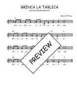 Téléchargez l'arrangement de la partition de Traditionnel-Brinca-la-tablita en PDF à deux voix