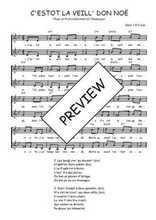 Téléchargez l'arrangement de la partition de Traditionnel-C-estot-la-veill--don-Noe en PDF à deux voix