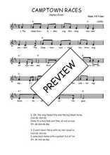Téléchargez l'arrangement de la partition de Traditionnel-Camptown-Races en PDF à deux voix
