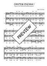 Téléchargez l'arrangement de la partition de Traditionnel-Cantem-encara en PDF à trois voix