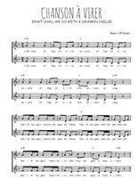 Téléchargez l'arrangement de la partition de Traditionnel-Chanson-a-virer en PDF à deux voix