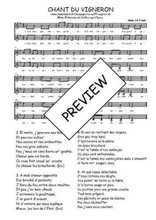 Téléchargez l'arrangement de la partition de Traditionnel-Chant-du-vigneron-Champagne en PDF à deux voix