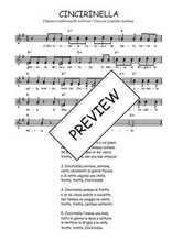 Téléchargez l'arrangement de la partition de Traditionnel-Cincirinella en PDF à deux voix