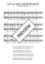 Téléchargez l'arrangement de la partition de Traditionnel-Dat-du-min-Leevsten-bust en PDF à deux voix