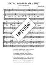 Téléchargez l'arrangement de la partition de Traditionnel-Dat-du-min-Leevsten-bust en PDF à trois voix