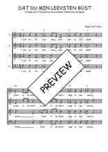 Téléchargez l'arrangement de la partition de Traditionnel-Dat-du-min-Leevsten-bust en PDF à quatre voix