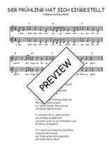 Téléchargez l'arrangement de la partition de Traditionnel-Der-Fruhling-hat-sich-eingestellt en PDF à deux voix