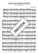 Téléchargez l'arrangement de la partition de Traditionnel-Der-machtigste-Konig en PDF à trois voix
