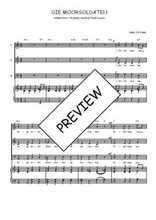 Téléchargez la partition de Die Moorsoldaten en PDF pour 3 voix SAB et piano