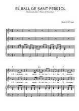 Téléchargez la partition de El ball de Sant Ferriol en PDF pour 2 voix égales et piano