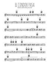 Téléchargez la partition en Sib de la musique perou-el-condor-pasa en PDF