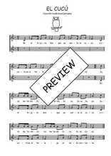 Téléchargez l'arrangement de la partition de Traditionnel-El-cucu en PDF à deux voix