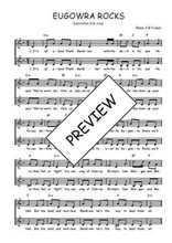 Téléchargez l'arrangement de la partition de Traditionnel-Eugowra-Rocks en PDF à deux voix