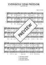 Téléchargez l'arrangement de la partition de Traditionnel-Everybody-sing-freedom en PDF à trois voix