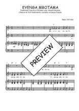 Téléchargez la partition de Eyenga mbotama en PDF pour 3 voix SAB et piano