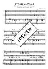 Téléchargez la partition de Eyenga mbotama en PDF pour 4 voix SATB et piano