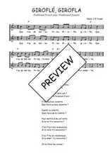 Téléchargez l'arrangement de la partition de Traditionnel-Girofle-girofla en PDF à deux voix