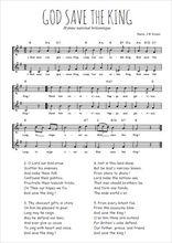 Téléchargez l'arrangement de la partition de hymne-national-britannique-god-save-the-king en PDF à deux voix