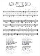 Téléchargez l'arrangement de la partition de hymne-national-britannique-god-save-the-queen en PDF à deux voix