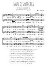 Téléchargez l'arrangement de la partition de noel-des-bergers-guillot-et-robin en PDF à deux voix