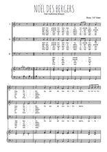 Téléchargez la partition de Noël des bergers, Guillot et Robin en PDF pour 3 voix SAB et piano
