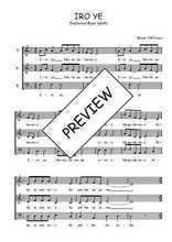 Téléchargez l'arrangement de la partition de Traditionnel-Iro-ye en PDF à trois voix