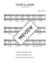 Téléchargez l'arrangement de la partition de Traditionnel-Jacob-s-ladder en PDF à deux voix