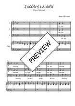Téléchargez la partition de Jacob's ladder en PDF pour 3 voix SAB et piano