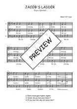 Téléchargez l'arrangement de la partition de Traditionnel-Jacob-s-ladder en PDF à trois voix