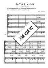 Téléchargez la partition de Jacob's ladder en PDF pour 4 voix SATB et piano