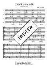 Téléchargez l'arrangement de la partition de Traditionnel-Jacob-s-ladder en PDF à quatre voix