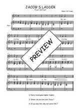 Téléchargez la partition de Jacob's ladder en PDF pour Chant et piano
