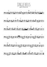 Téléchargez la partition de noel-jingle-bells en clef de fa