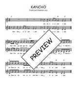 Téléchargez l'arrangement de la partition de Traditionnel-Kancho en PDF à deux voix